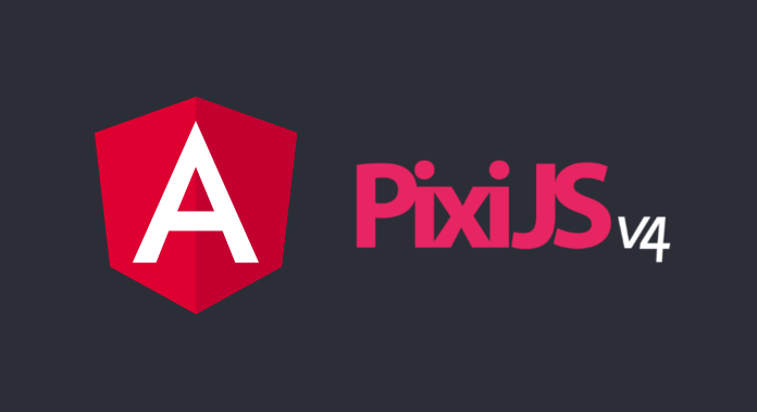 How to run PIXI in Angular application
